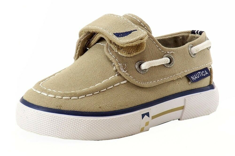 Baby Navy Boat Shoes