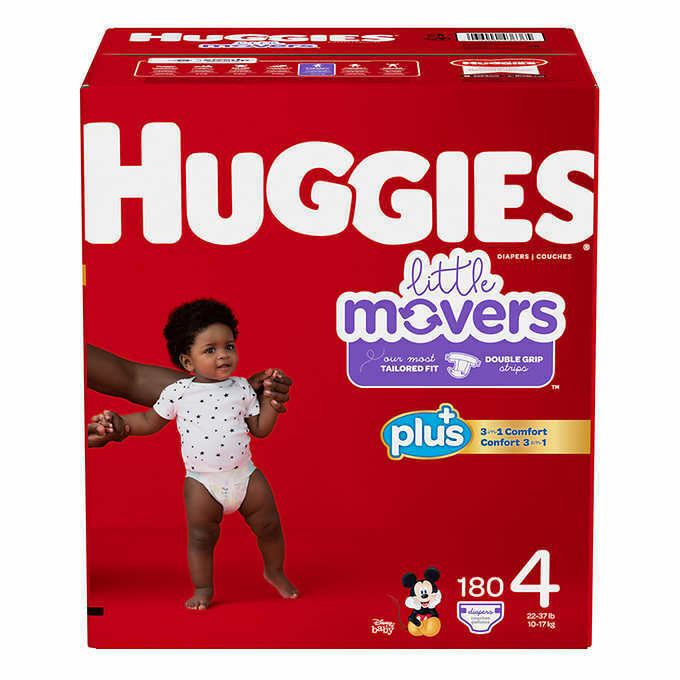 I stopped using Pampers Cruisers with all the dry max hype. I tried Huggies Little Movers, but the second DD peed in them, they smelled awful. We had a few leaks in them also. We now use Pampers Baby Dry, and I love them! They smell good too -- more like the old Pampers Swaddlers.