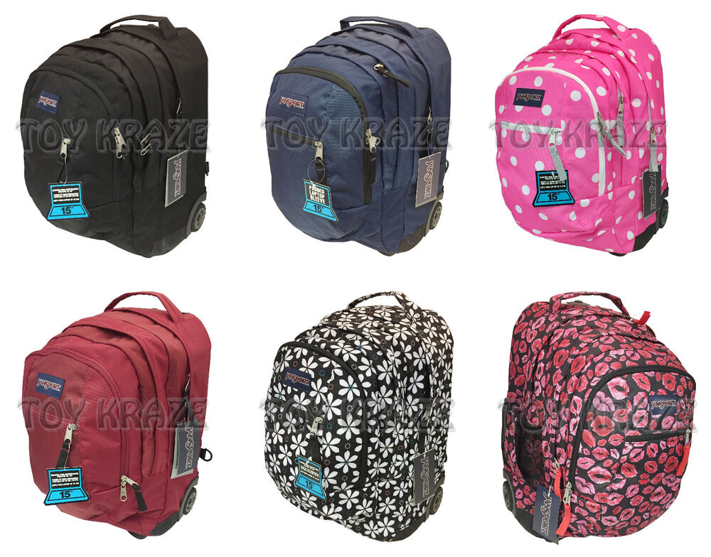 Jansport Rolling Backpack | eBay