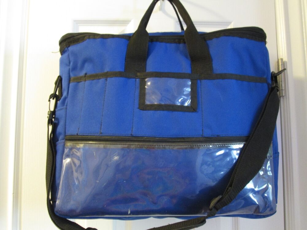 Fiskars scrapbook carry bag hobby arts crafts tote blue for Arts and crafts tote bags