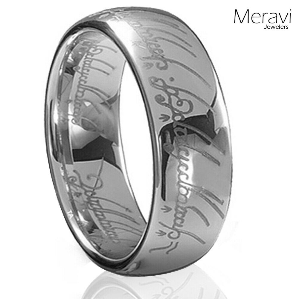 Lord Of The Rings Ring Of Elvish