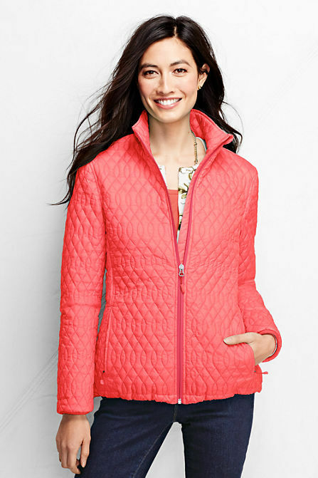 Lands End Women S Petite Primaloft Packable Jacket