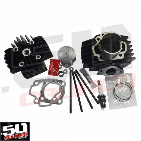 yamaha pw50 big bore kit dirt bike cylinder top end head piston performance part ebay. Black Bedroom Furniture Sets. Home Design Ideas