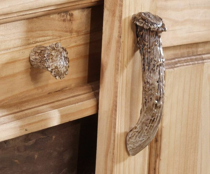 New Whitetail Deer Antler Drawer Knob Cabinet Pull Choice