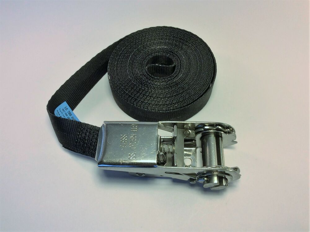 316 Stainless Steel Ratchet Strap 25mm Endless Sailing