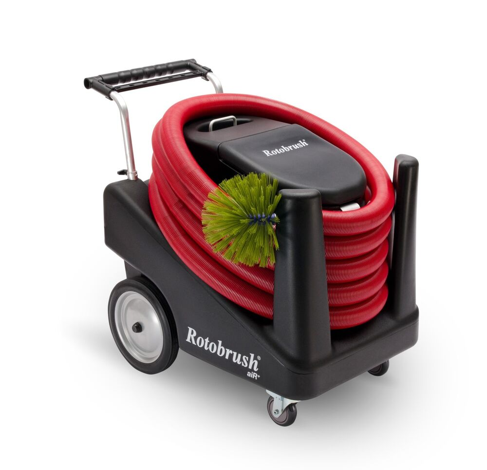 Portable Air Cleaning System : Rotobrush air xp duct cleaning system ebay