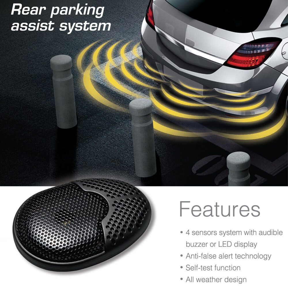 Steelmate Ebat C1 4 Sensors Parking Assist System Car