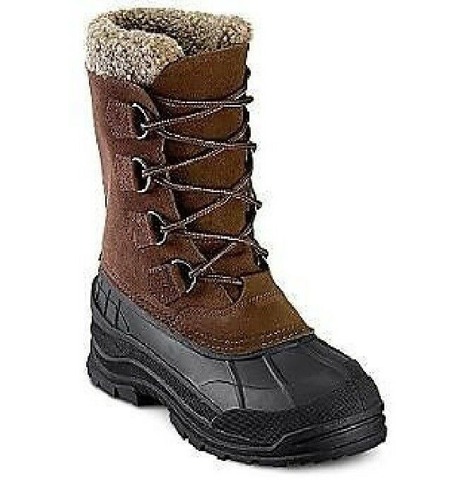 totes s boots winter denalli lace up waterproof