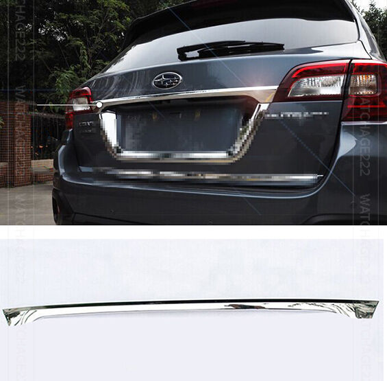 FIT FOR 15- SUBARU OUTBACK CHROME REAR TRUNK DOOR TAILGATE ...