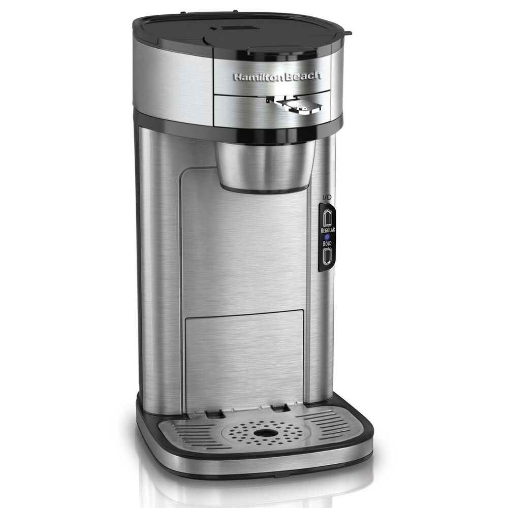 Free Coffee Maker With Coffee Purchase : Hamilton Beach The Scoop Single Serve Coffee Maker, Stainless Steel 49981 40094499816 eBay