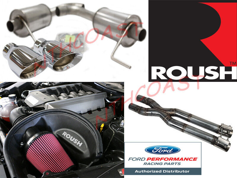 2015 2016 Mustang Gt Roush Performance Axle Back Intake