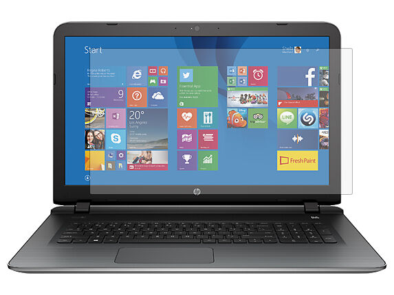 how to clean laptop screen hp