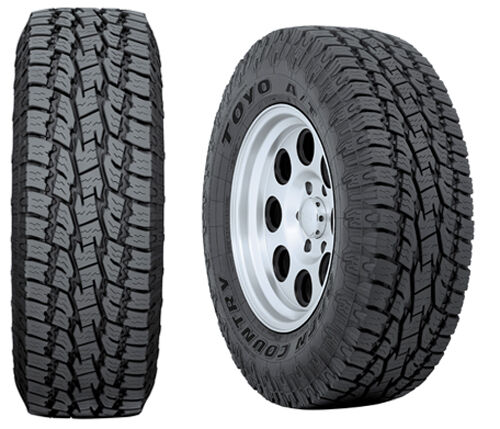 4 new 285 75 18 toyo at2 10ply tires 75r18 r18 75r all terrain truck ebay. Black Bedroom Furniture Sets. Home Design Ideas
