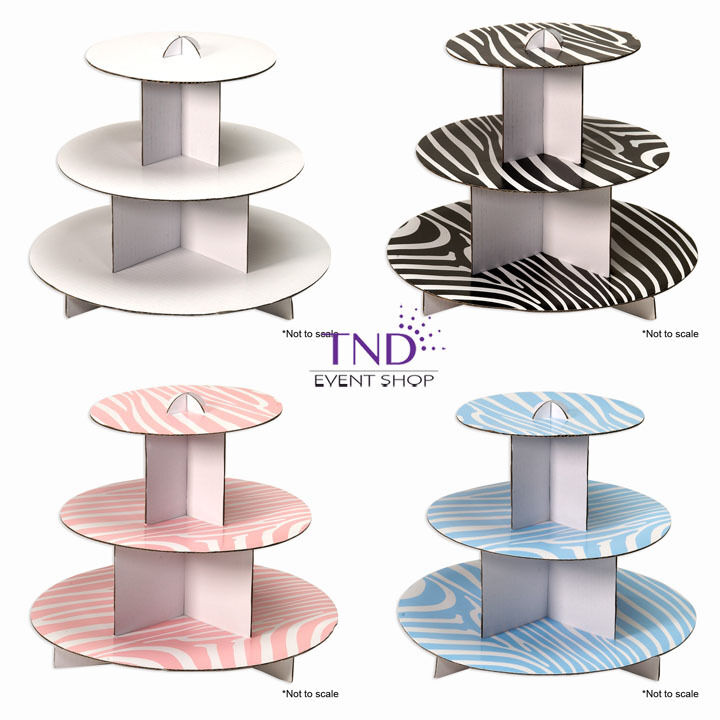 cardboard wedding cake stand 3 tier cardboard cupcake stand holder tower wedding baby 12385