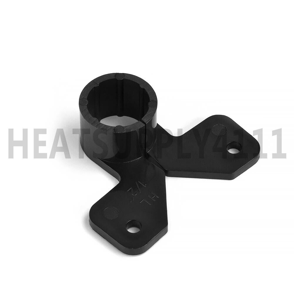 (100) Suspension/Butterfly Plastic Pipe Clamps for 1/2 ...