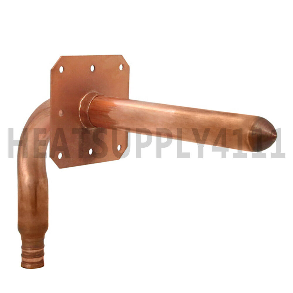 25 copper stub out elbow for 1 2 pex tubing with ear for Pex pipe vs copper