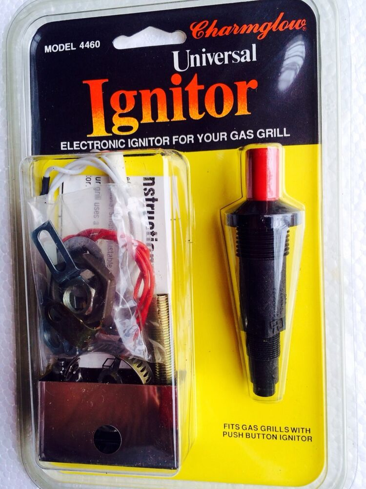 Weber Gas Grill Parts >> Gas Grill Electronic Igniter Universal Charmglow Gas Grill Model 4460 Ignitor | eBay