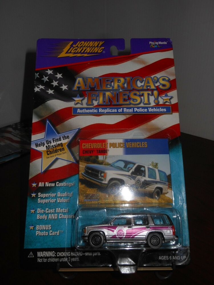 Johnny Lightning America S Finest Chevrolet Police Chevy
