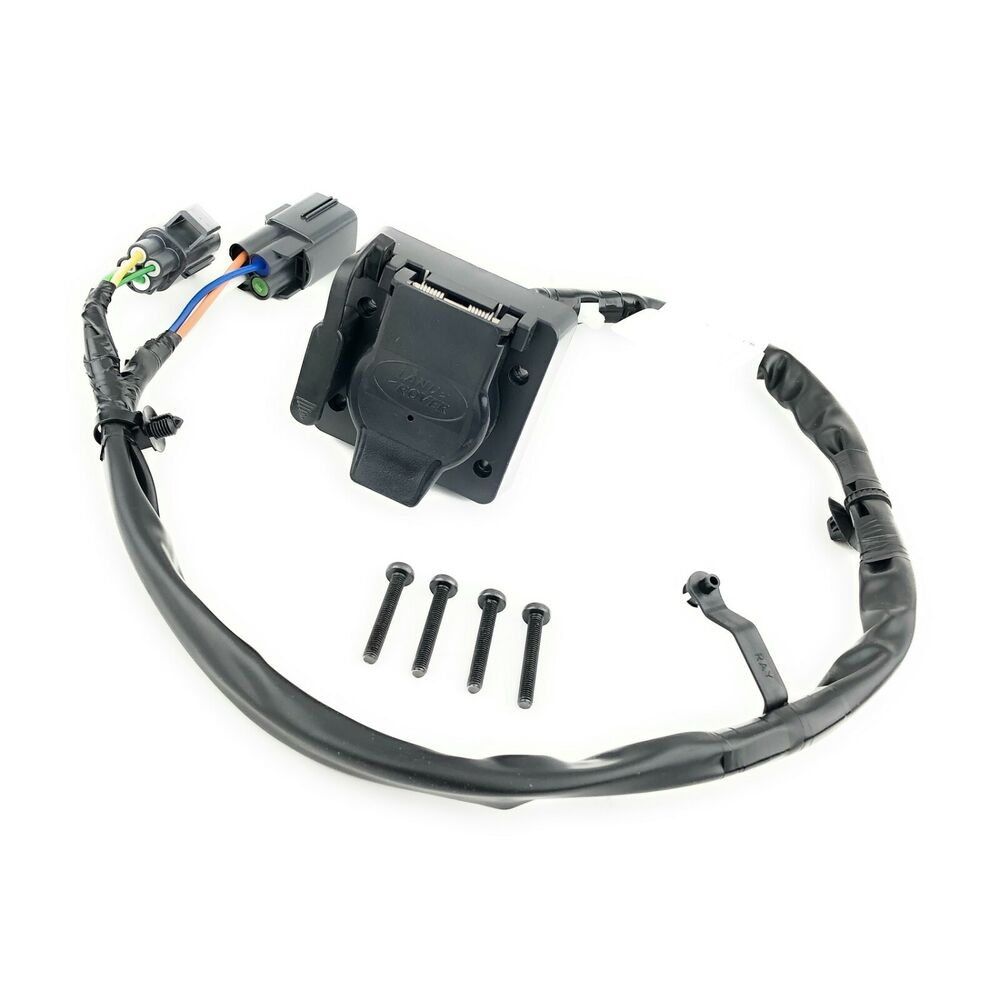 12 13 range rover sport towing trailer electrics wiring harness kit genuine new ebay
