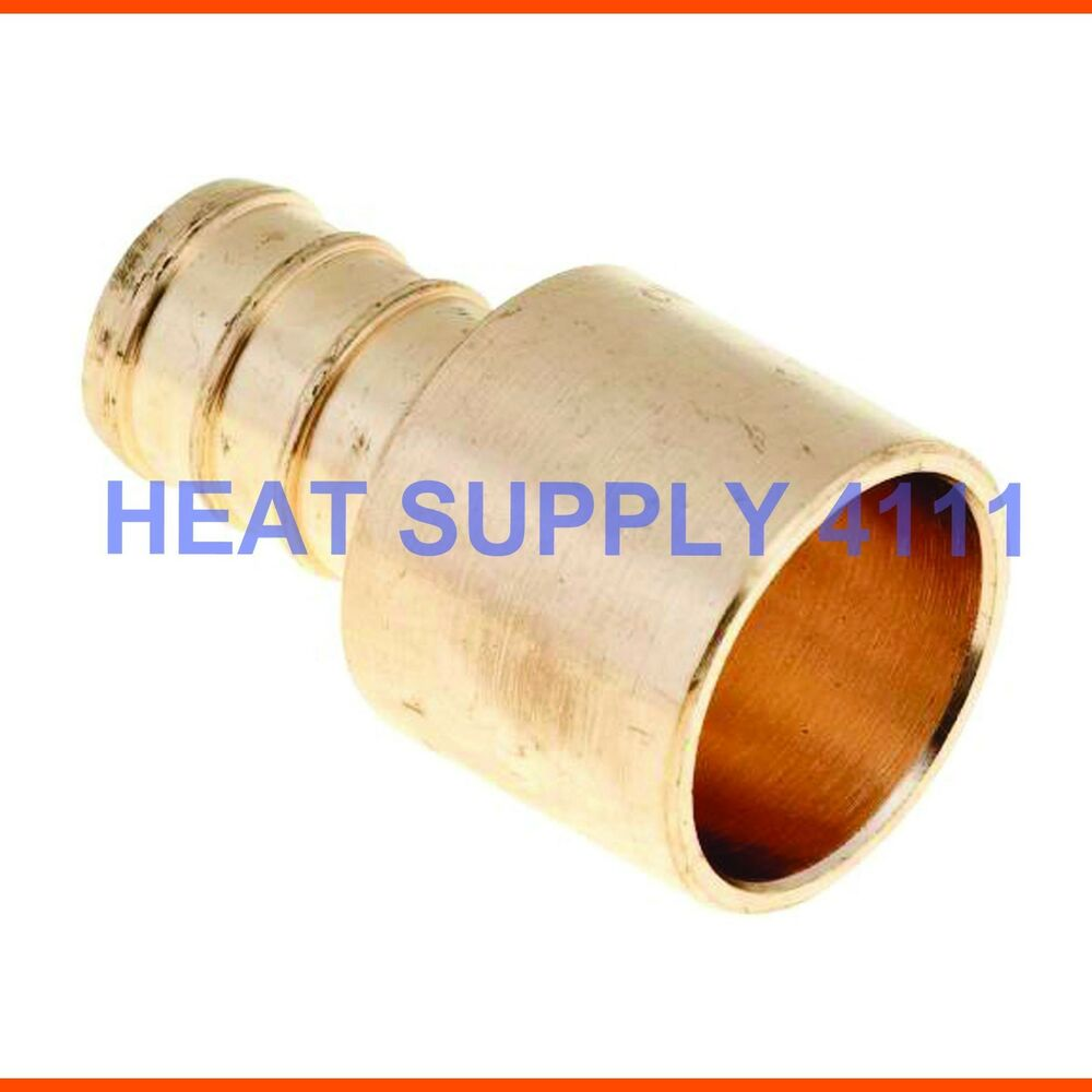 Quot pex male sweat adapters copper fittings
