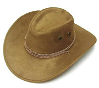 DELUXE CAMEL ROPER COWBOY HAT western hats rancher caps rodeo fashion wear NEW