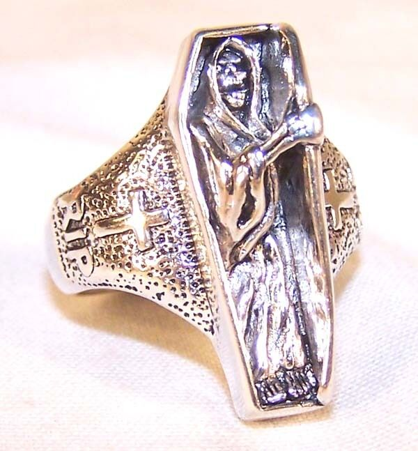 Grim Reaper Fashion Jewelry Mens Jewelry