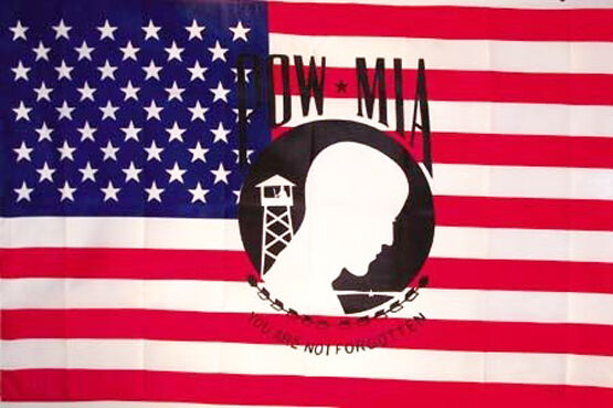 American Pow Mia 3 X 5 Flag Banner Poster Military 333