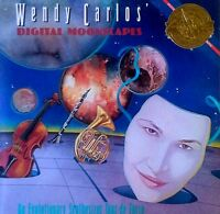 WENDY CARLOS - DIGITAL MOONSCAPES - CBS LP - 1984 - SYNTHESIZER