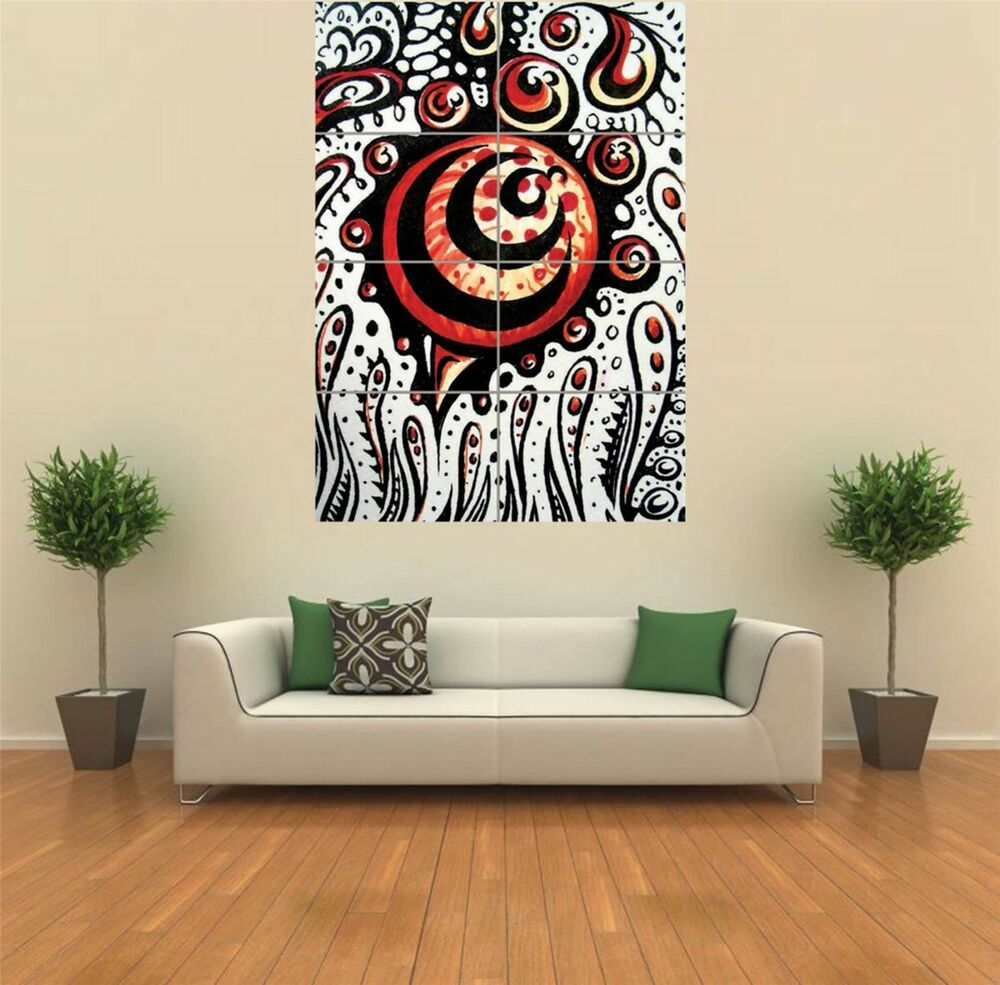 Psychedelic Weird Cool Trippy New Giant Poster Wall Art