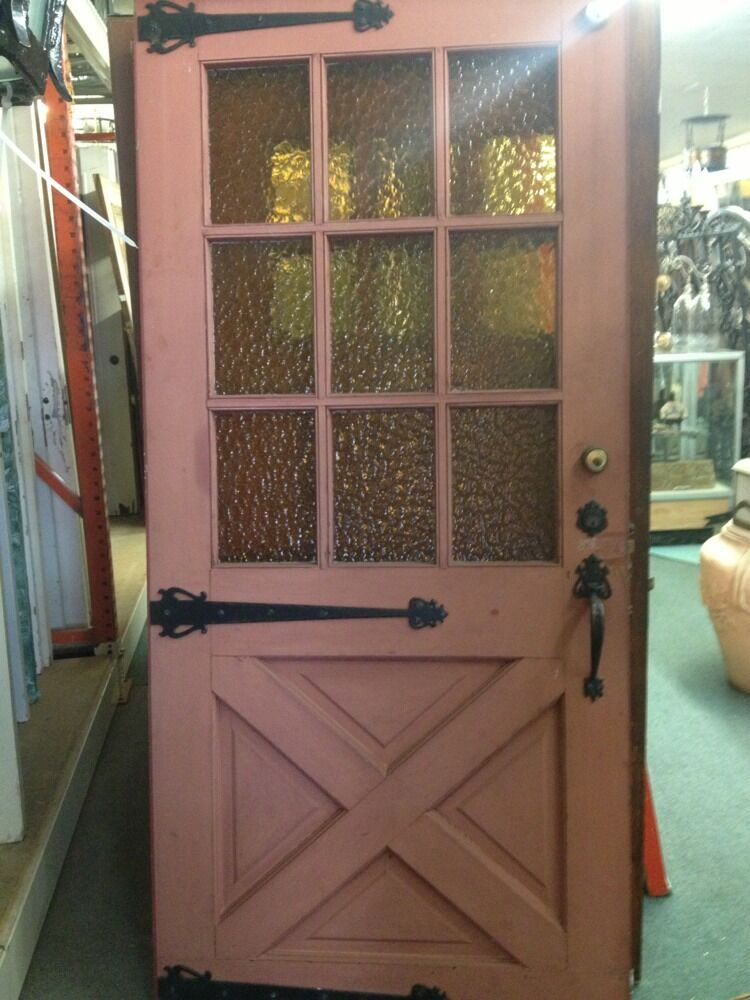 Front Door 1940 Spanish Ranch Style With Hardware Old