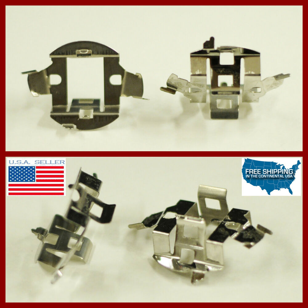 2x H7 Bulb Retainer Clip Socket Holder Adapter Bmw Saab