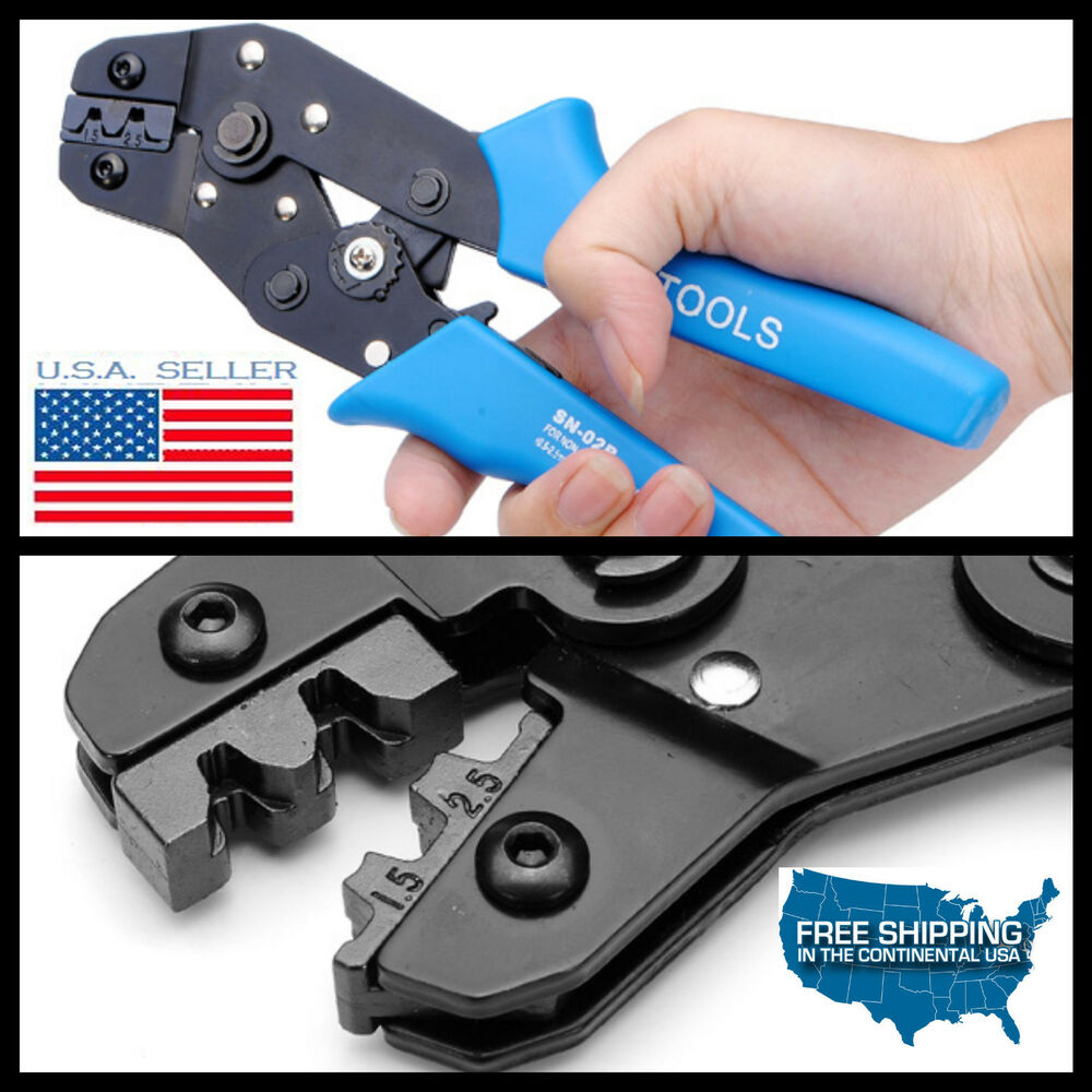 1x electrical wire connector terminal molex crimping tool wire crimper 20 14 awg ebay. Black Bedroom Furniture Sets. Home Design Ideas