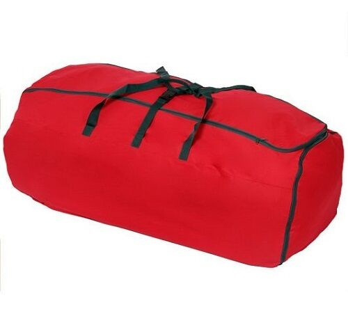 expandable multi purpose christmas tree storage bag w wheels h201214 h203309 red ebay. Black Bedroom Furniture Sets. Home Design Ideas