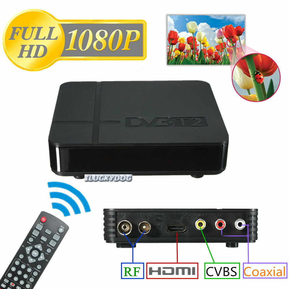 mini hd dvb t2 digital terrestrial receiver set top box compatible with dvb t fe ebay. Black Bedroom Furniture Sets. Home Design Ideas
