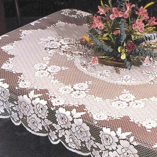 Heritage Lace VICTORIAN ROSE Tablecloths Round or  : s l1000 from www.ebay.com size 550 x 550 jpeg 92kB