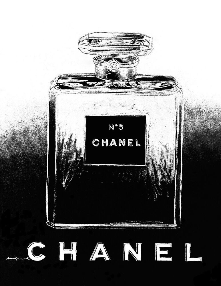 Advertising Poster/Print - Chanel Perfume - Black and ...