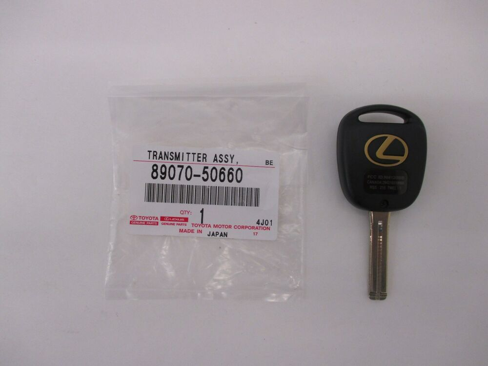 Lexus Key Fob Replacement >> LEXUS OEM FACTORY MASTER KEY WITH REMOTE 2001-2003 LS430 89070-50660 | eBay