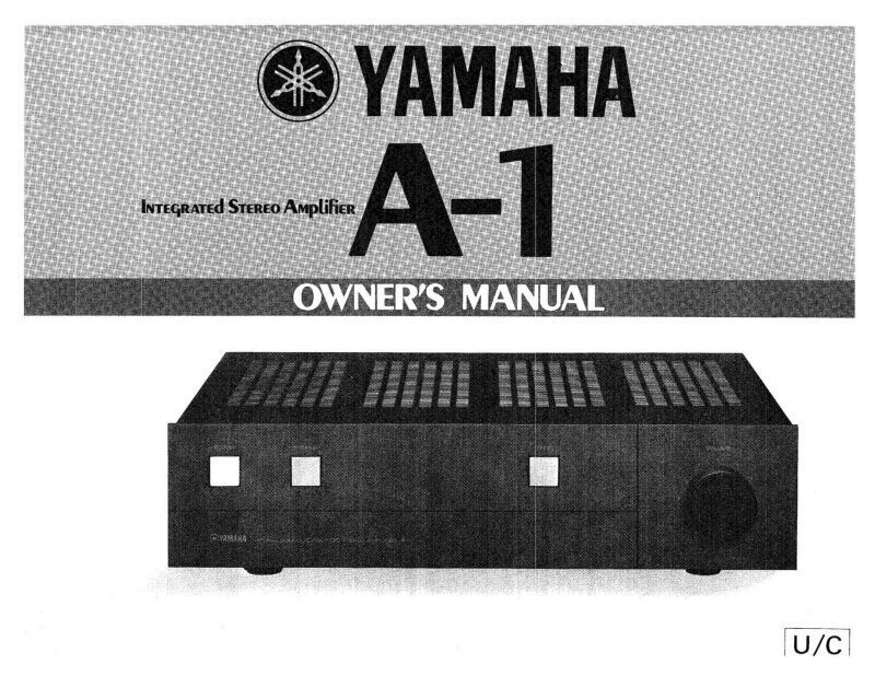 Yamaha a1 amplifier owners manual ebay for Yamaha ysp 5600 manual