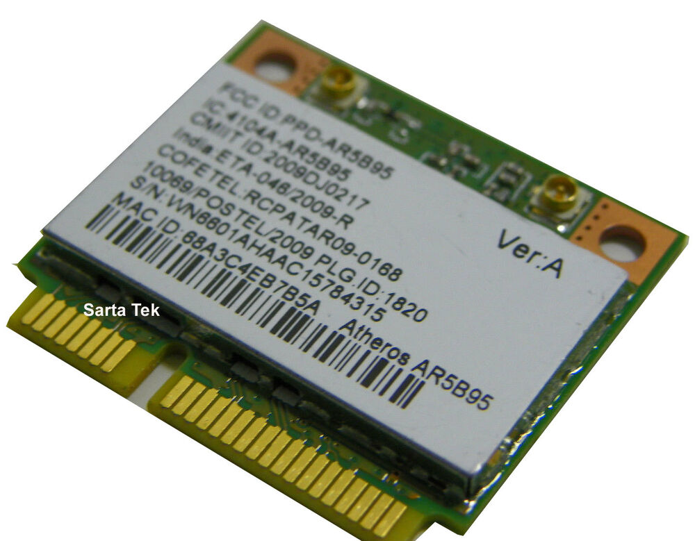 Atheros Ar9285 modded Driver for win7 7 64 Bit sony