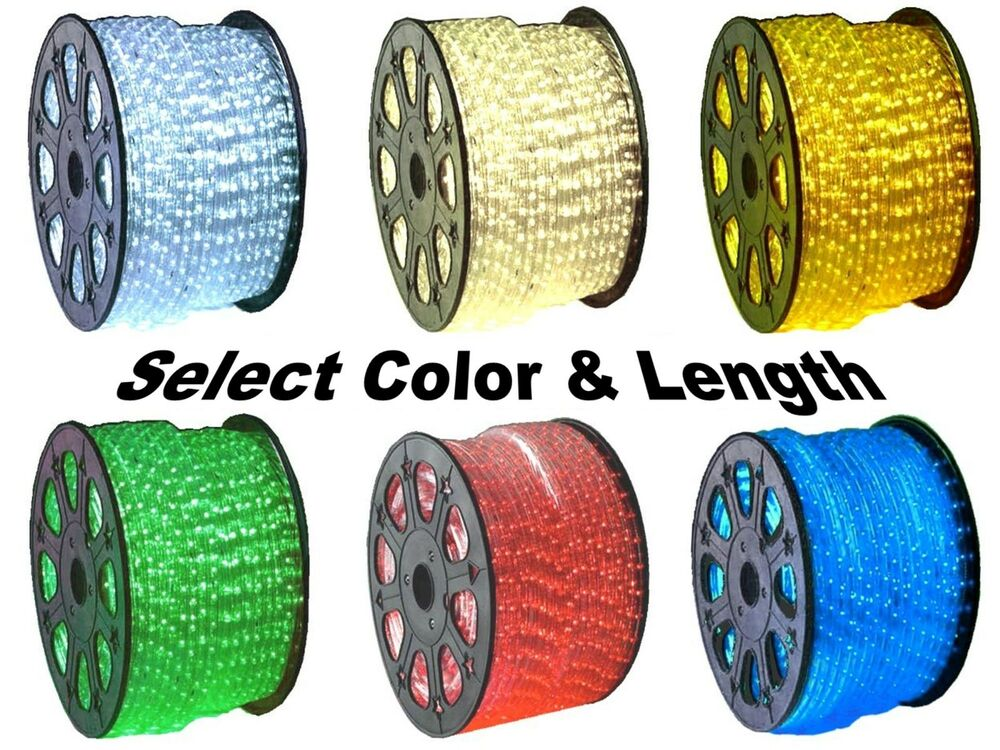 12v led rope lights home auto boat lighting red green blue cool. Black Bedroom Furniture Sets. Home Design Ideas