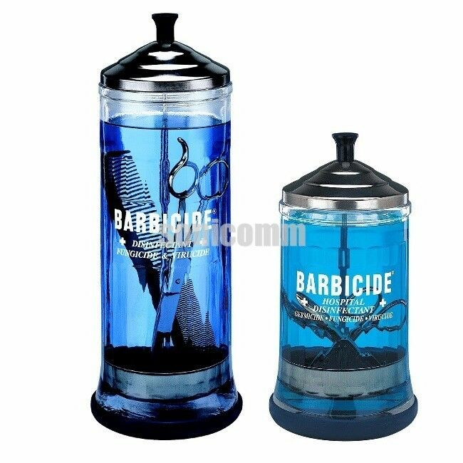 New barbicide jar beauty barber salon tools disinfecting for 3 methods of sterilization in the salon