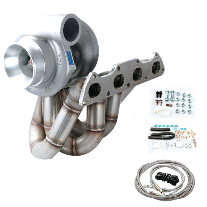 T3 Turbo Charger Kit Turbo Manifold Integra B16 B18 B20 T3