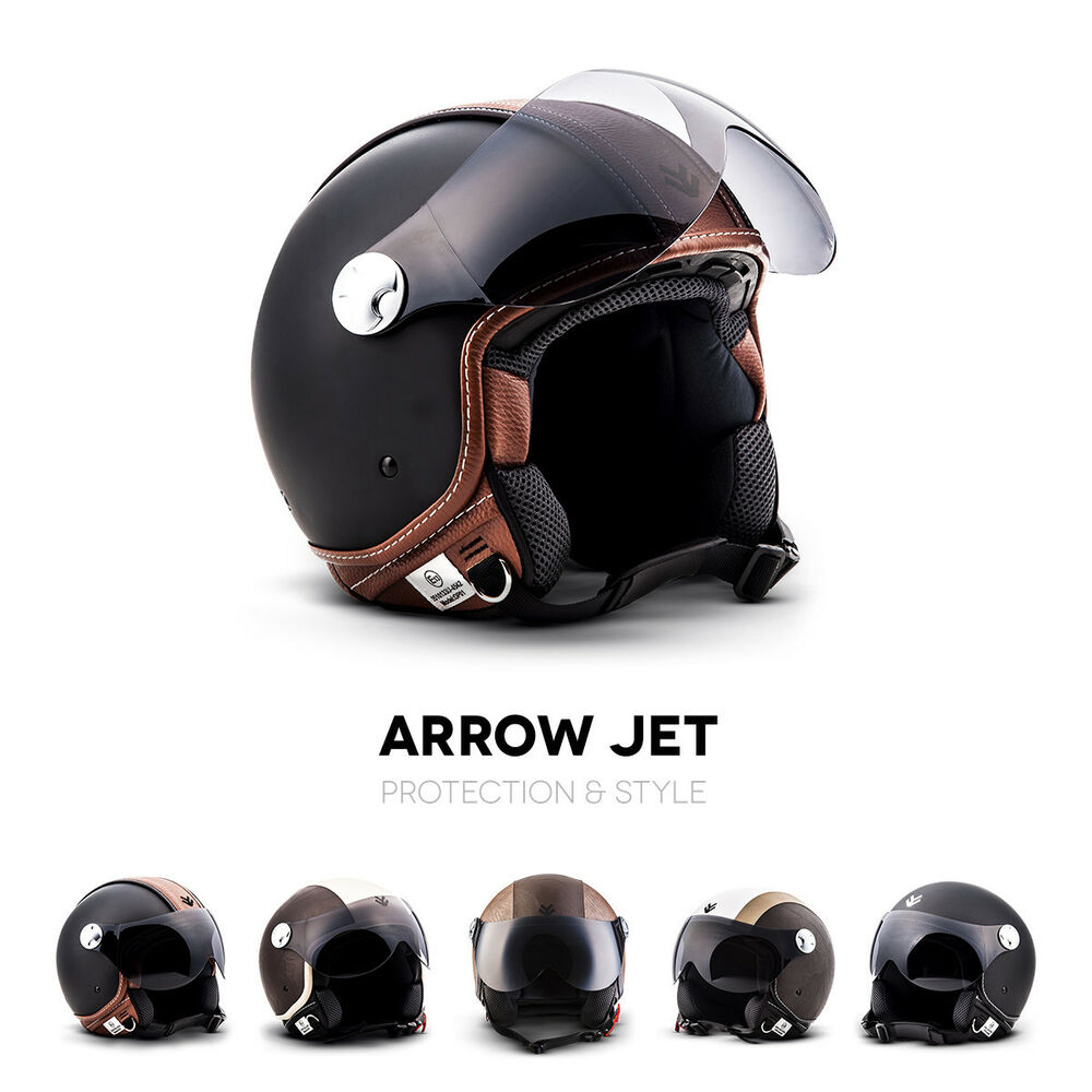 armor av 84 jet helm vespa retro motorrad roller helm. Black Bedroom Furniture Sets. Home Design Ideas