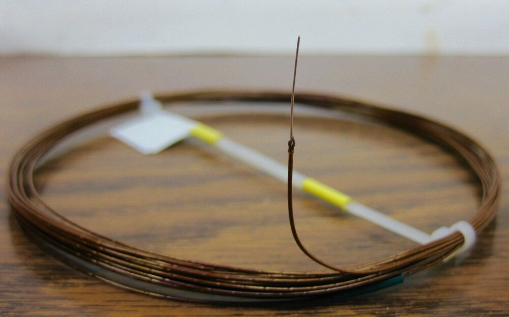 Kapton Wire | 25 Feet 28 Awg Silver Plated Kapton Wire Amber Solid 1 Strand High