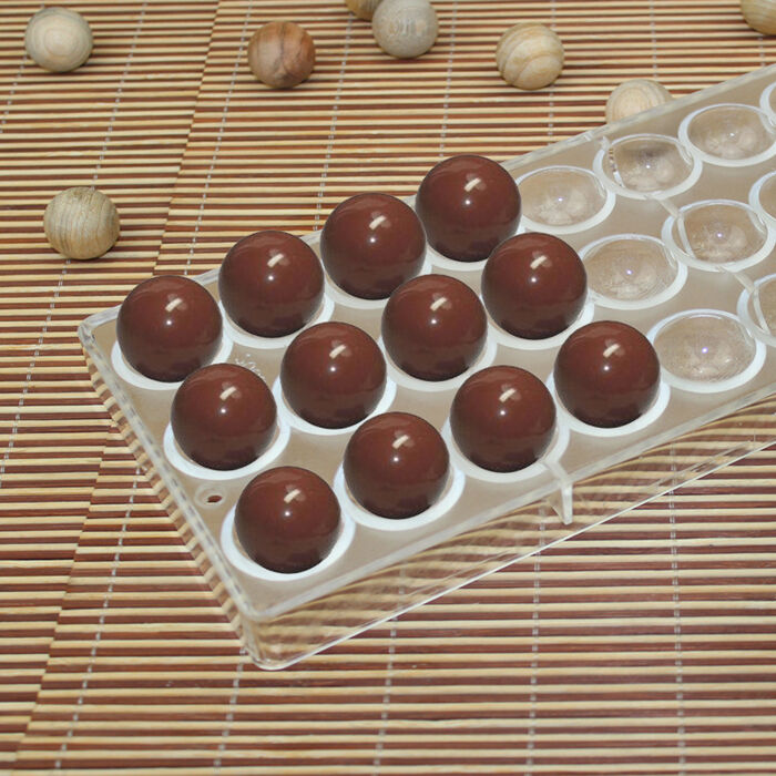 Semi Sphere Chocolate Mould Pc Polycarbonate Chocolate