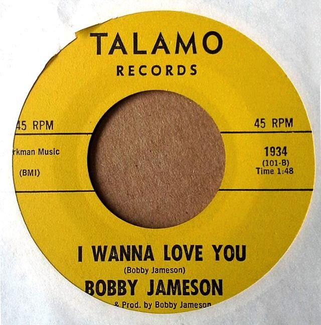 Bobby Jameson I Wanna Love You