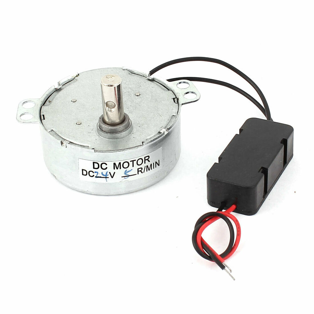 Dc 24v 5rpm Fan Speed Reducer Micro Brushless Cw Ccw