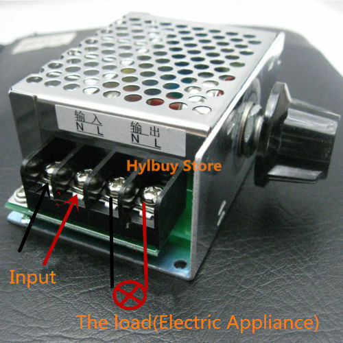 Ac 220v 230v scr voltage regulator adjust motor speed Speed control for ac motor