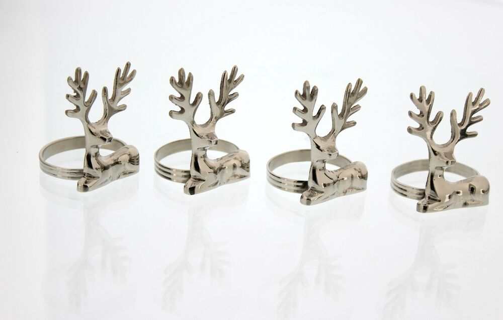 Nr 224 Napkin Rings For Dinners Parties Set Of 4