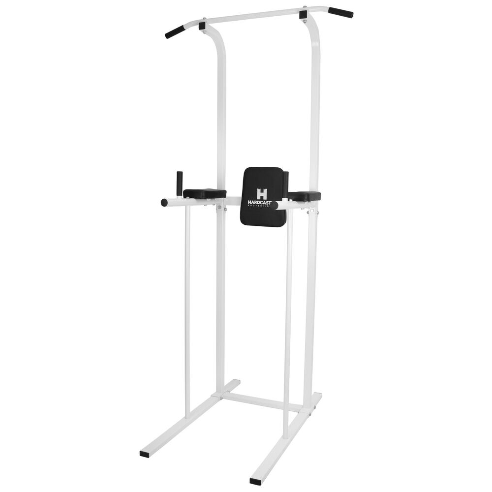 Power Tower Ab Dip Station Pull Chin Up Bar Home Gym Knee